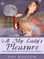 At My Lady's Pleasure (The Gisbornes of Nottingham, #2)