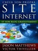 Créer son propre site internet et son blog gratuitement