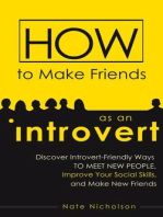 How to Make Friends as an Introvert