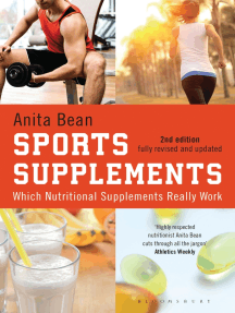 Sports Supplements: Which nutritional supplements really work