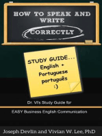 How to Speak and Write Correctly: Study Guide (English + Portuguese)