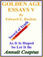 Golden Age Essays V