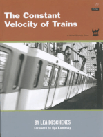 The Constant Velocity of Trains