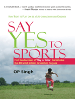 Say Yes to Sports