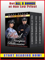 Soul of the Vampire Billionaire 3-Book Boxed Set Bundle (Vampire Billionaire Romance Boxed Sets, #3)