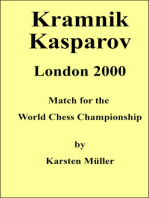 Kramnik-Kasparov, London 2000: Match for the World Chess Championship