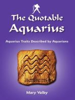 The Quotable Aquarius