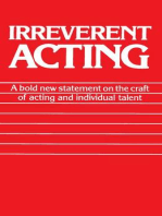 Irreverent Acting