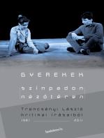 Gyerekek színpadon-nézőtéren