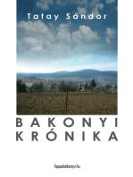 Bakonyi krónika