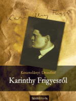 Karinthy Frigyesről