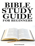 Bible Study Guide for Beginners