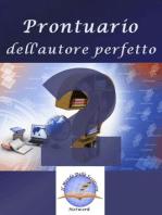 Prontuario dell'autore perfetto 2