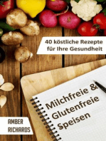 Milchfreie & Glutenfreie Speisen