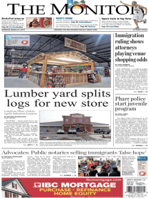 The Monitor - 03-09-2015