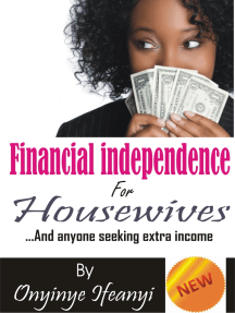 Financial Independence for Housewives
