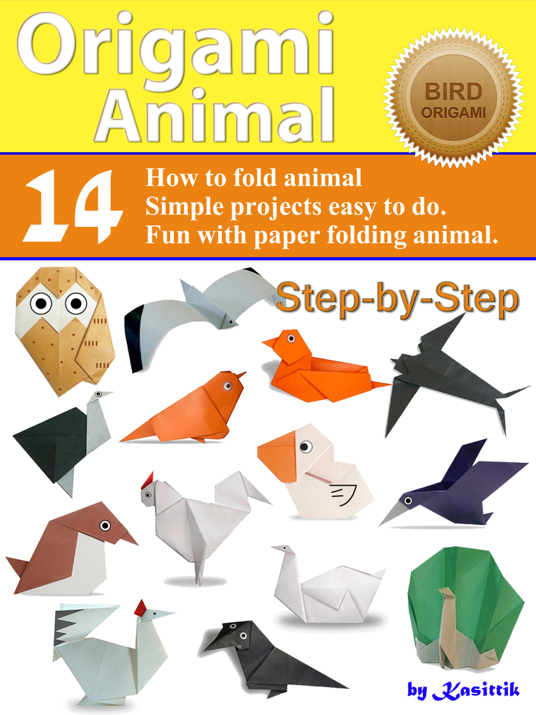 How To Make An Easy Origami Baby Bird & Nest | 1024x768