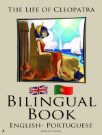 Bilingual Book The Life of Cleopatra (Portuguese - English)