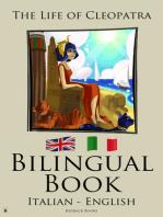 Bilingual Book The Life of Cleopatra (Italian - English)