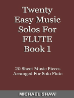 Twenty Easy Music Solos For Flute Book 1