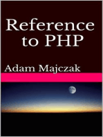 Reference to PHP, Second Edition