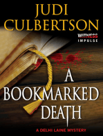 A Bookmarked Death: A Delhi Laine Mystery