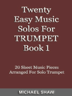 Twenty Easy Music Solos For Trumpet Book 1