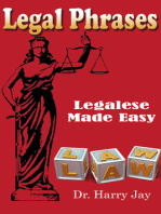 Legal Phrases