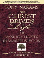 #1 The Christ Driven Life