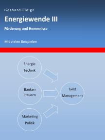 Energiewende III: Förderung und Hemmnisse