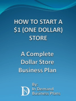 How To Start A $1 (One Dollar) Store