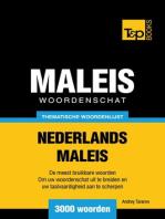 Thematische woordenschat Nederlands-Maleis: 3000 woorden