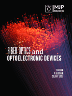 Fiber Optics and Optoelectronic Devices
