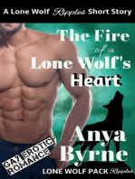 The Fire of a Lone Wolf's Heart