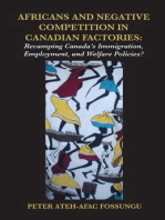 Africans and Negative Competition in Canadian Factories