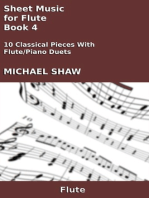 Sheet Music for Flute