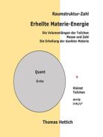 Raumstruktur-Zahl Erhellte Materie-Energie