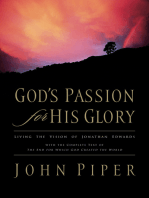 God's Passion for His Glory
