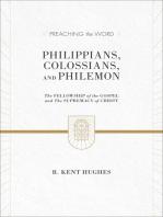 Philippians, Colossians, and Philemon (2 volumes in 1 / ESV Edition)
