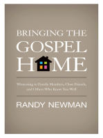 Bringing the Gospel Home
