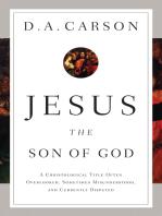 Jesus the Son of God
