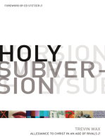 Holy Subversion (Foreword by Ed Stetzer)