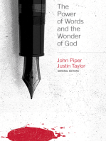 The Power of Words and the Wonder of God