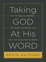 Taking God At His Word