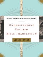Understanding English Bible Translation