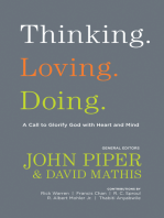 Thinking. Loving. Doing. (Contributions by