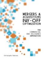Mergers & Acquisitions Pay-off Optimization: The Commercial Due Diligence Imperative