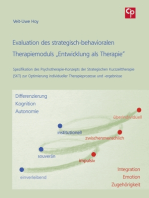 "Evaluation des strategisch-behavioralen Therapiemoduls ""Entwicklung als Therapie"""