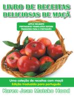 Livro de receitas deliciosas de maçã