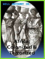 Africa; Colonized And Terrorized